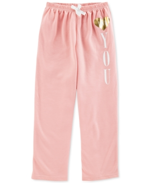 Carters Big Girls Heart You Pajama Pants