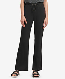 DKNY Wide-Leg Pull-On Pants, Created for Macy's