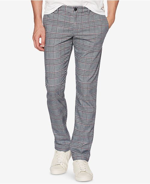 1326496af0681 Original Penguin Men s Stretch Plaid Pants   Reviews - Pants - Men ...