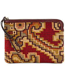 Patricia Nash Peruvian Tapestry Cassini Wristlet