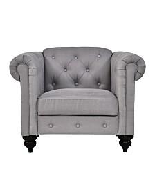 Sofas 2 Go Elizabeth Chair Fog