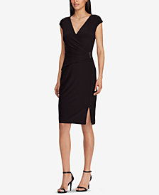 Lauren Ralph Lauren Cap-Sleeve Dress