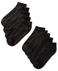Hanes Men's 10-Pk. Low-Cut Socks