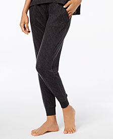 Ande Super Soft Ribbed-Trim Jogger Pajama Pants