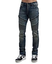 Men's Rocco Classic Moto Jeans
