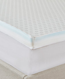 "Flexapedic by Sleep Philosophy All Seasons Full 3"" Cooling-to-warming Reversible Memory Foam Mattress Topper"