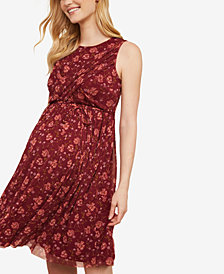 Jessica Simpson Maternity Twist-Front Dress