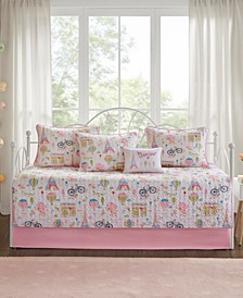 Bonjour Reversible 6-Pc. Daybed Set