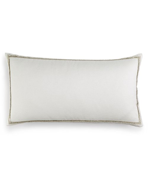 "Hotel Collection CLOSEOUT! Fresco Sage 14"" x 26"" Decorative Pillow, Created for Macy's"