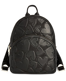 Betsey Johnson Bachelor Of Fine Hearts Backpack