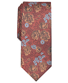 Tallia Men's Whitten Floral Slim Tie