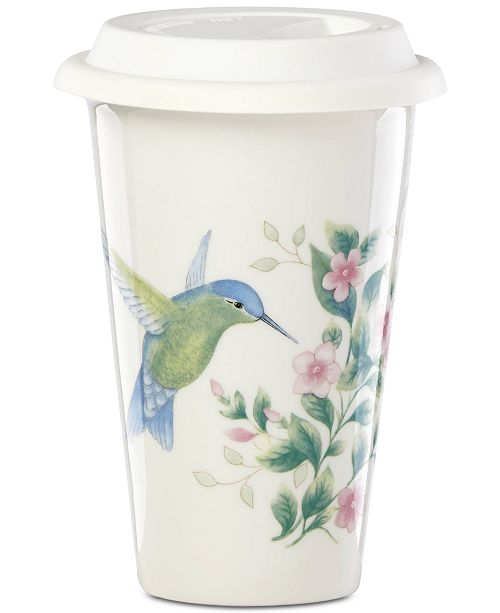 Lenox Butterfly Meadow  Flutter Thermal  Travel Mug, Created For Macy's