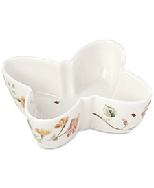Butterfly Meadow Shaped Bowl
