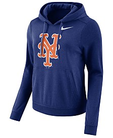 Nike Women's New York Mets Club Pullover Hoodie
