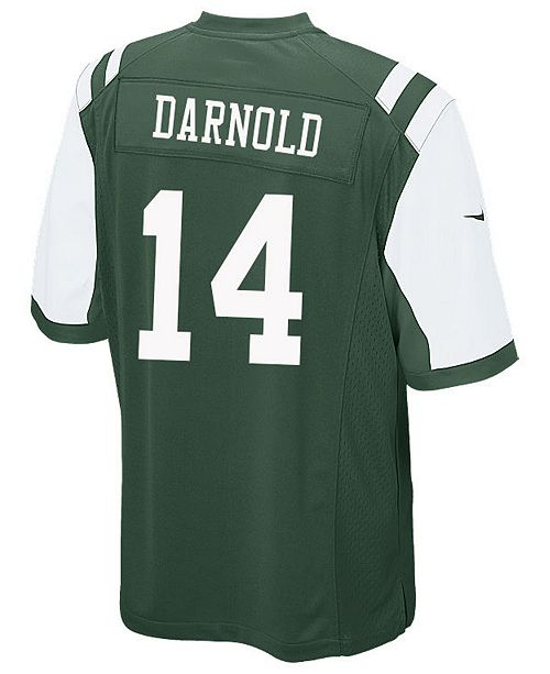 0ff9f200509 Nike Men's Sam Darnold New York Jets Game Jersey - Sports Fan Shop ...