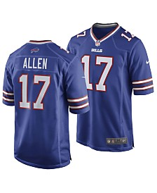 Nike Men's Josh Allen Buffalo Bills Game Jersey