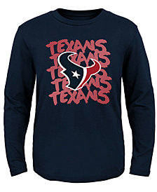 Outerstuff Houston Texans Graph Repeat T-Shirt, Toddler Boys (2T-4T)