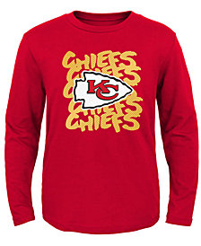 Outerstuff Kansas City Chiefs Graph Repeat T-Shirt, Toddler Boys (2T-4T)