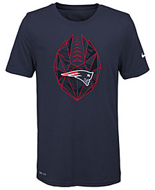 Nike New England Patriots Football Icon T-Shirt, Big Boys (8-20)
