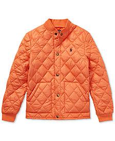 Polo Ralph Lauren Big Boys Quilted Baseball Jacket