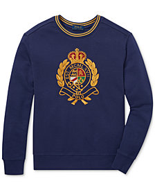 Polo Ralph Lauren Big Boys Cotton Crest Sweatshirt