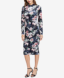 RACHEL Rachel Roy Floral-Print Sheath Dress