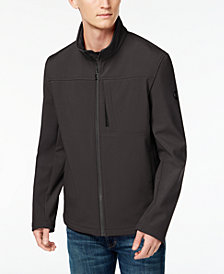 Calvin Klein Men's Soft Shell 4-way Stretch Jacket