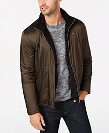 Calvin Klein Men's Fuzzy Sherpa Lined Windbreaker