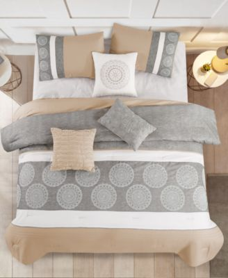 Tindo 7-Pc. Full Comforter Set