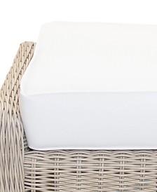Willough Outdoor Ottoman Replacement Sunbrella® Cushion, Quick Ship