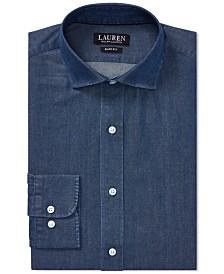 Lauren Ralph Lauren Men's Slim Fit Cotton Dress Shirt