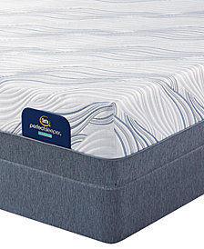 Serta Perfect Sleeper 13.75'' Presson Hybrid Plush Mattress Set- Queen