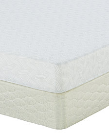 "Serta Sertapedic 7"" Follenbee Firm Memory Foam Mattress Set- Queen Split"