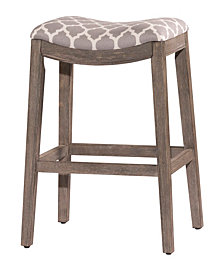 Sorella Barstool in Gray Finish