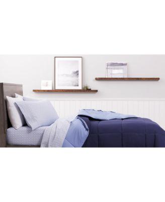 Martha Stewart Collection Printed Microfiber 4 Pc. Sheet Sets, Created For  Macyu0027s   Sheets U0026 Pillowcases   Bed U0026 Bath   Macyu0027s