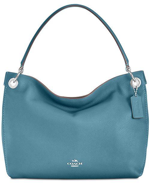 16799411bad5 COACH Clarkson Medium Hobo   Reviews - Upright Luggage - Macy s