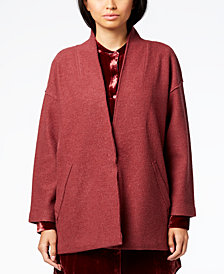 Eileen Fisher Kimono-Sleeve Jacket, Regular & Petite