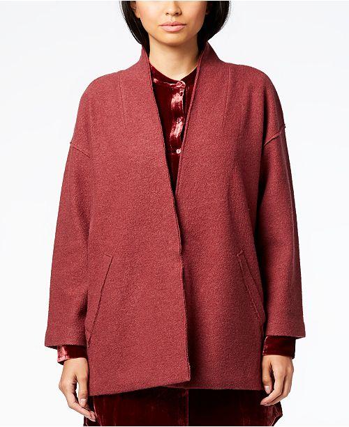 Sleeve Fisher Eileen amp; Kimono Jacket Regular Monterey Petite wPBBEd