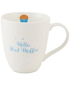 Pfaltzgraff Hello Stud Muffin Mug