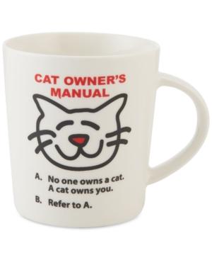Pfaltzgraff Cat Owner's Manual Mug