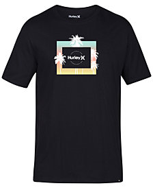 Hurley Men's Twilight Logo Graphic T-Shirt