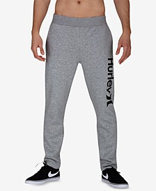 Men's One & Only Surf Check Fleece Track Pants