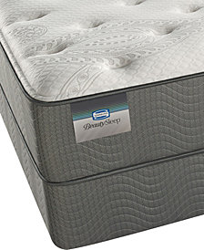 "ONLINE ONLY! BeautySleep 12"" Beaver Creek Plush Mattress Set- Queen Split"