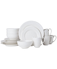 Pfaltzgraff Leaf 16-Pc. Dinnerware Set, Service for 4