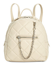Steve Madden Selma Box Quilt Backpack