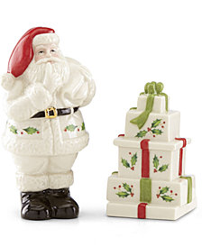 Lenox Santa Salt & Pepper Shaker Set
