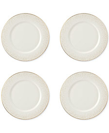 CLOSEOUT! Sara Miller Celestial Set of 4 Dinner Plates