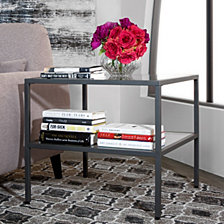 Camber Glass End Table