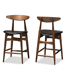 Knoxe Counter Stool (Set Of 2), Quick Ship
