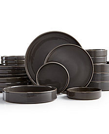 Goodful™ Stackable Gray 20-Pc. Dinnerware Set, Service for 4